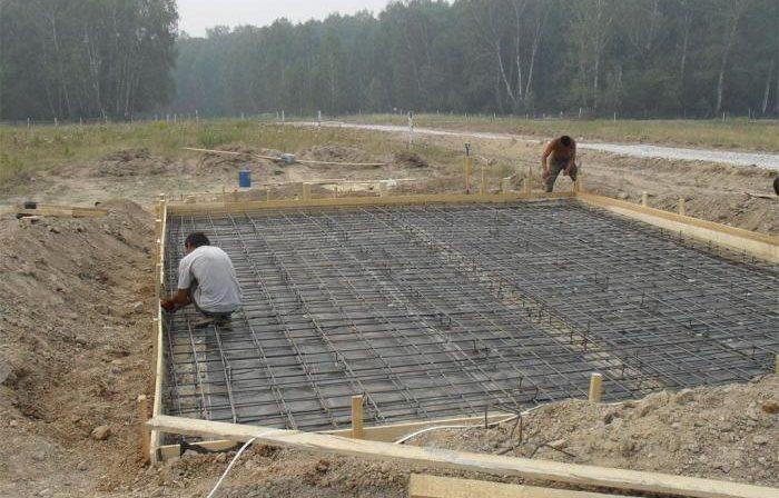 Фундамент для болотистой местности