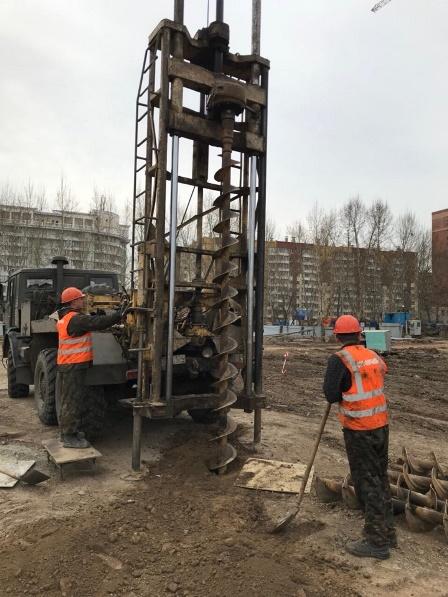 Фундамент цена московская область Одинцовский район
